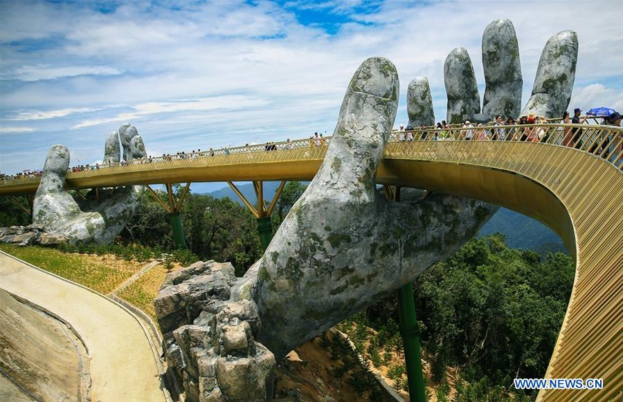 Golden Bridge au Vietnam