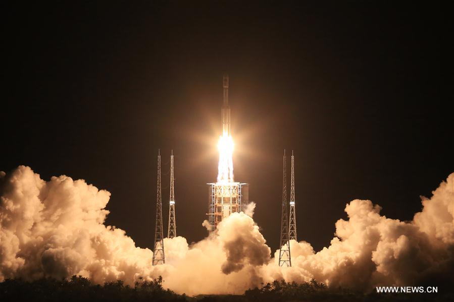 (长征七号首飞)(3)长征七号运载火箭发射