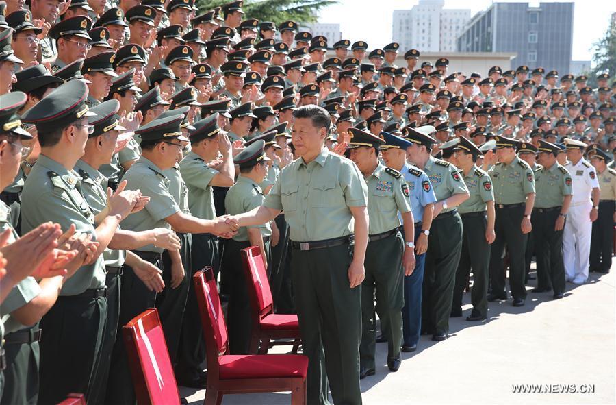 (时政)(1)习近平视察战略支援部队机关