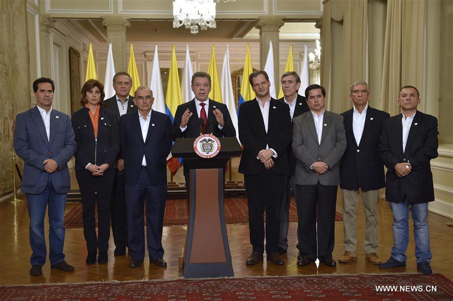 (国际)(8)哥伦比亚全民公投结果显示和平协议未获通过