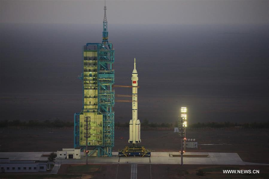 Chine : lancement du vaisseau spatial habité Shenzhou-11