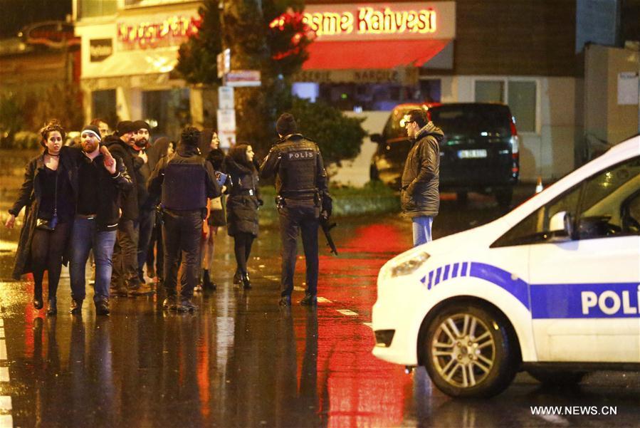 (外代一线)(14)土耳其伊斯坦布尔跨年夜发生枪击事件