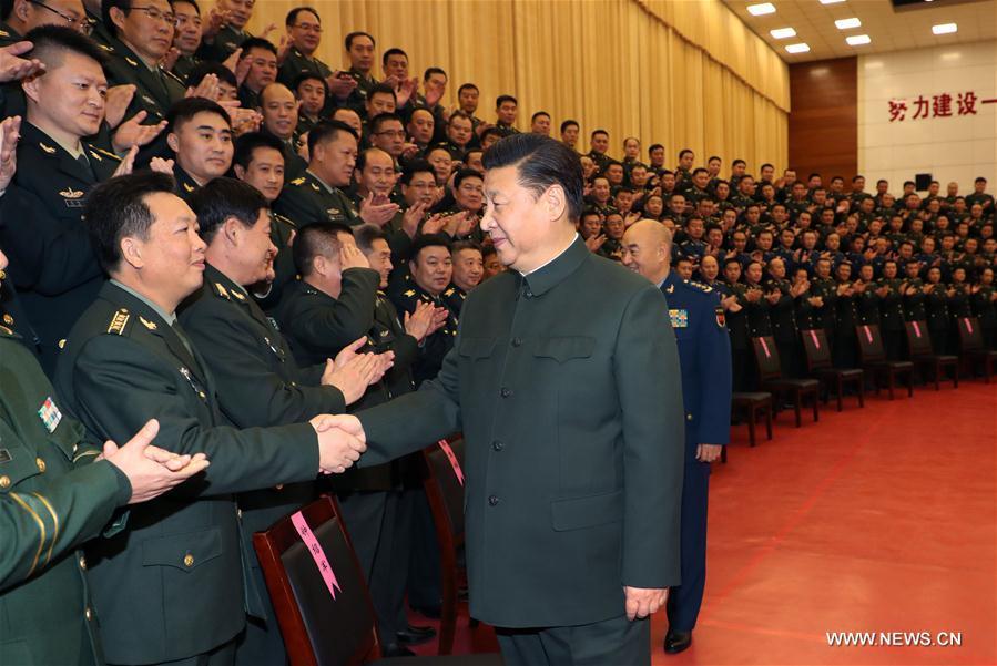 (时政)(1)习近平春节前夕视察驻张家口部队