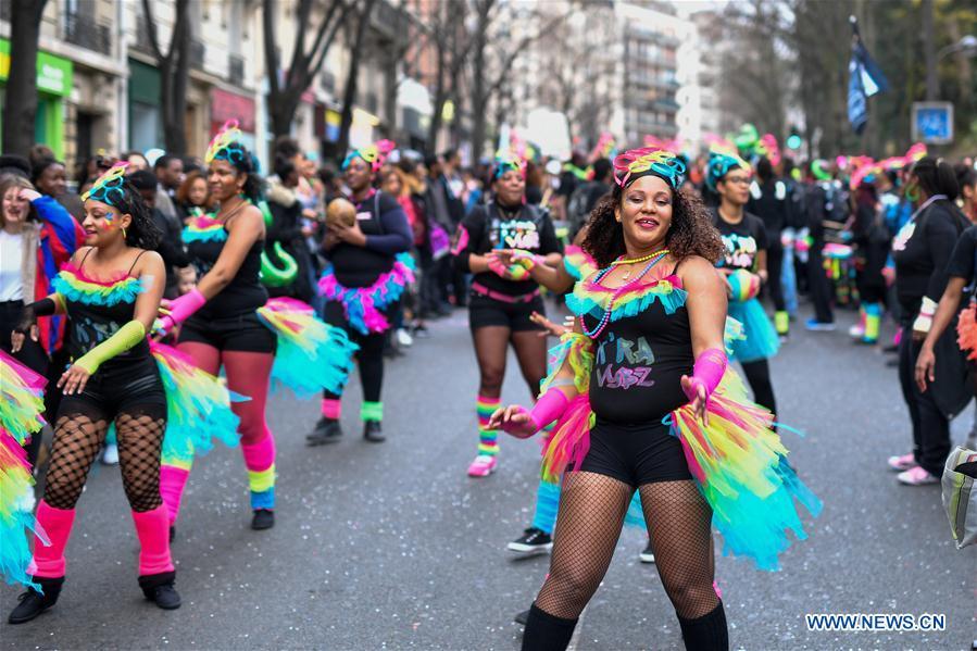 Le carnaval de paris 2017 en photos - Carnaval de paris 2017 ...