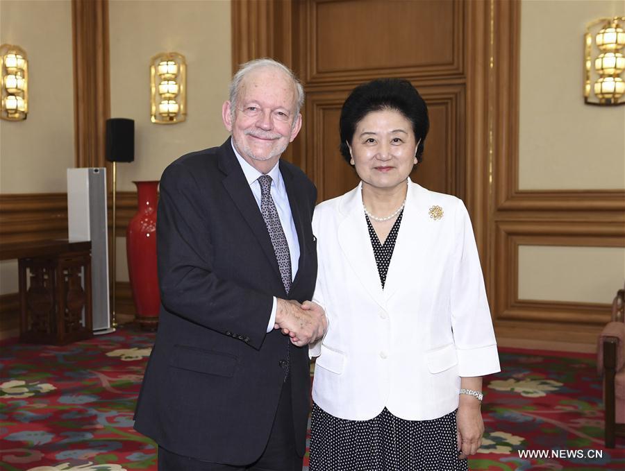 (XHDW)刘延东会见联合国儿童基金会执行主任安东尼·莱克