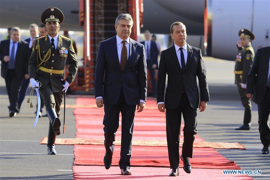 nouvel ordre mondial   L'Arménie et la Russie décident d'approfondir leur coopération dans plusieurs domaines