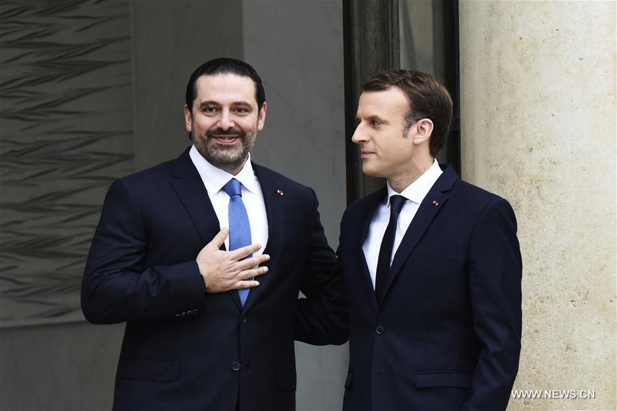 nouvel ordre mondial | France : le président Macron reçoit le Premier ministre libanais démissionnaire Saad  Hariri (SYNTHESE)