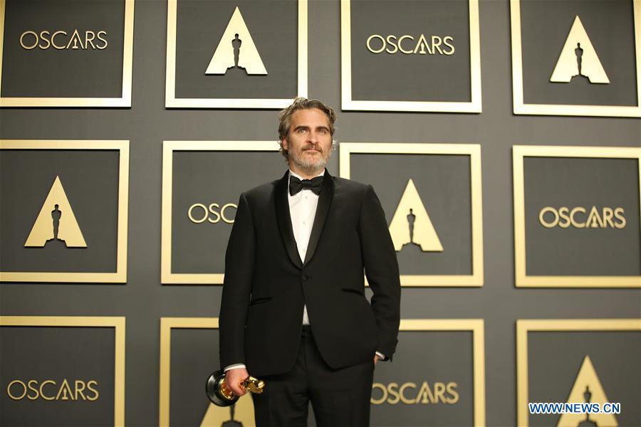 Joaquin Phoenix Remporte L Oscar Du Meilleur Acteur Pour Joker French News Cn
