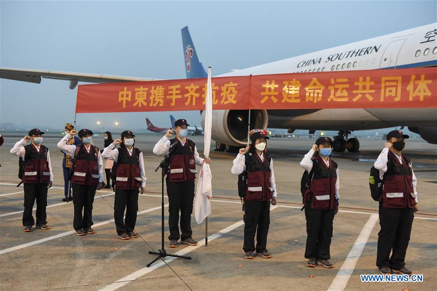CHINA-GUANGXI-NANNING-COVID-19-CAMBODIA-EXPERTS-DEPARTURE (CN)