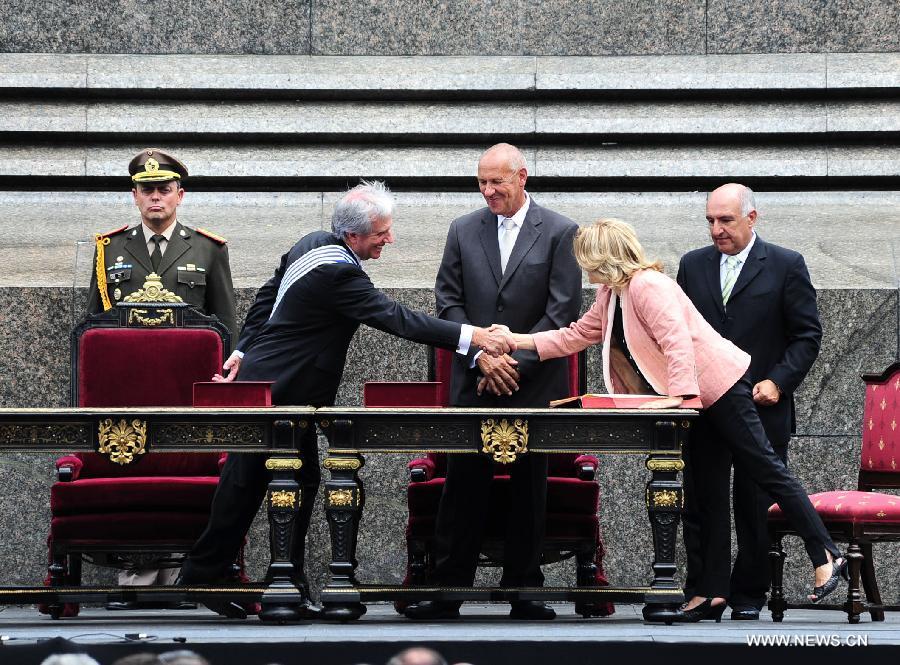 URUGUAY-MONTEVIDEO-TABARE VAZQUEZ-INAUGURATION