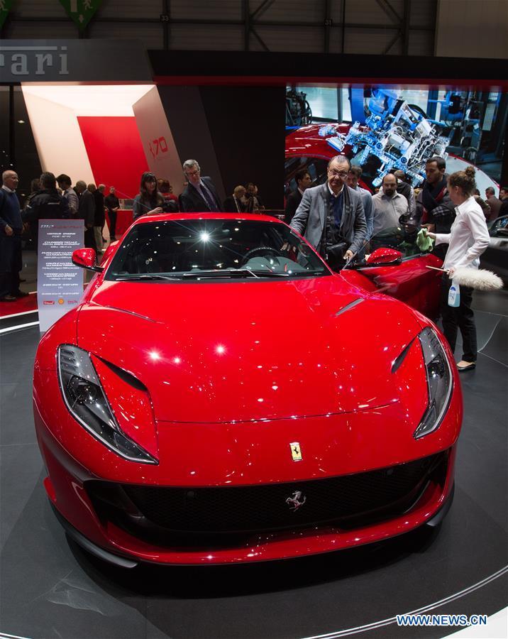 Le salon international de l 39 automobile de gen ve ouvre ses - Salon international de l automobile de geneve ...