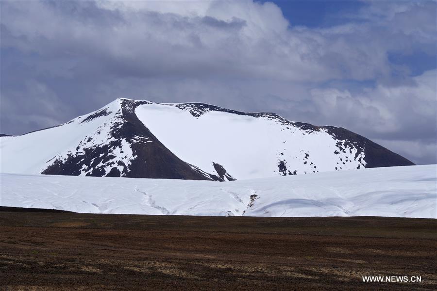 Glacier Purog Kangri dans la région autonome du Tibet