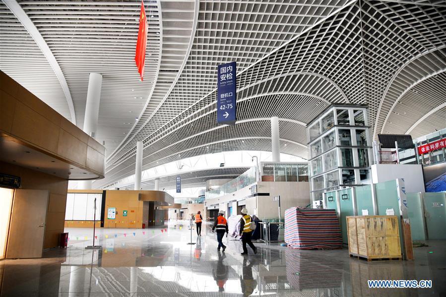 Reprise totale des travaux d'un aéroport au Shandong