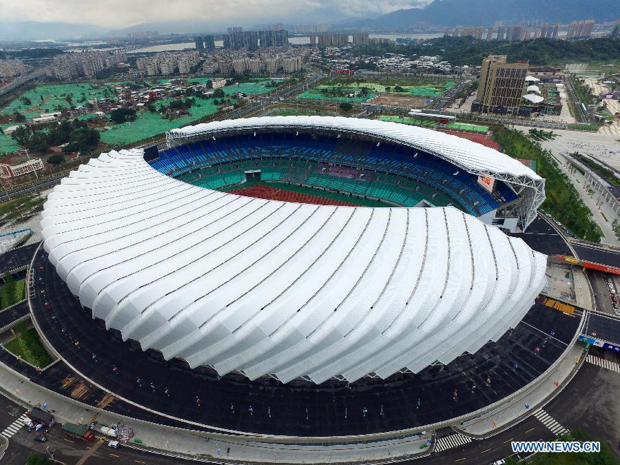 En Images Les Stades Des Jeux De La Jeunesse De Chine
