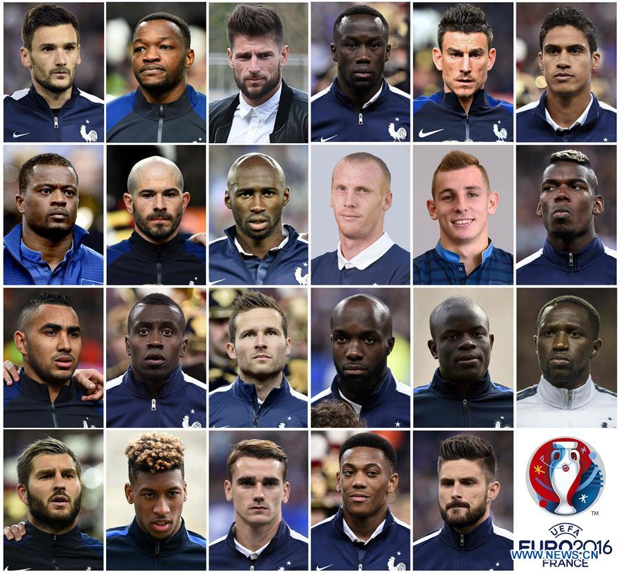 euro 2016 equipe de france la liste des 23 de didier deschamps d voil e. Black Bedroom Furniture Sets. Home Design Ideas