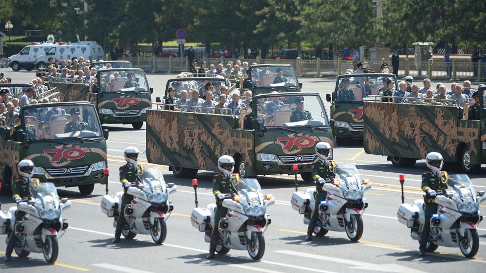 Journée de la Victoire : les vétérans en tête du défilé militaire