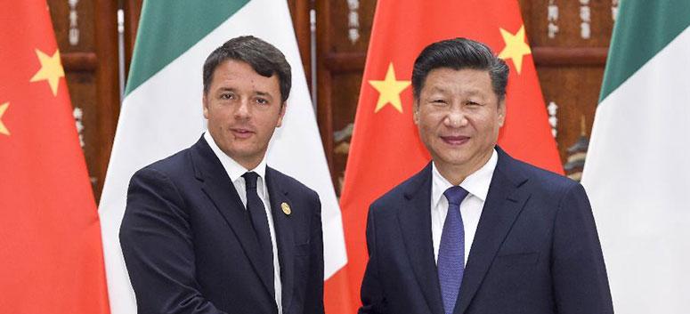 Xi Jinping rencontre le PM italien en amont du sommet du G20