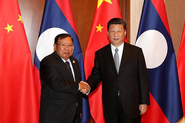 Xi Jinping appelle à approfondir la coopération avec le Laos