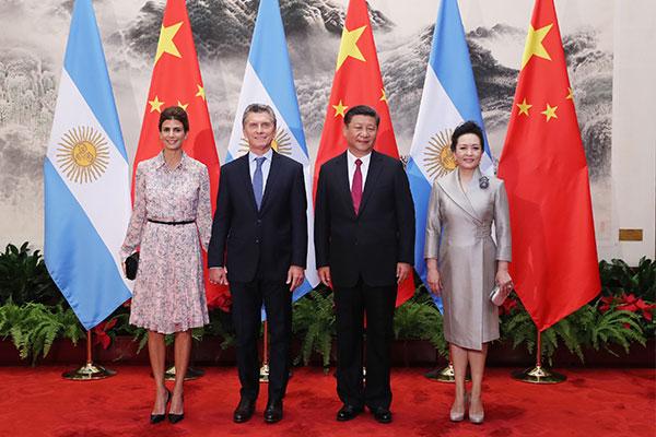 Chine : la Chine et l'Argentine s'engagent à renforcer les liens bilatéraux
