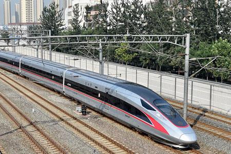 La Chine rétablit la vitesse maximale des trains sur la ligne Beijing-Shanghai à  350 km/h