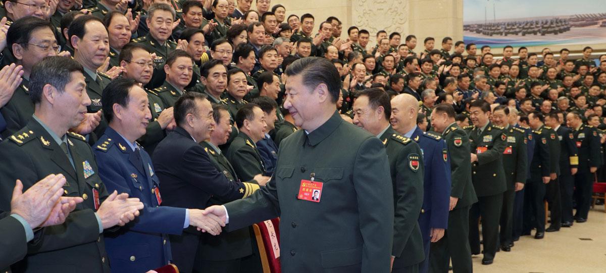 Xi Jinping appelle à édifier une armée chinoise forte