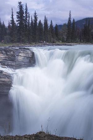 Paysage dans les montagnes Rocheuses canadiennes