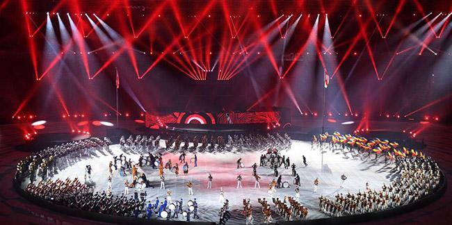 Indonésie: cérémonie de clôture de la 18e édition des Jeux asiatiques