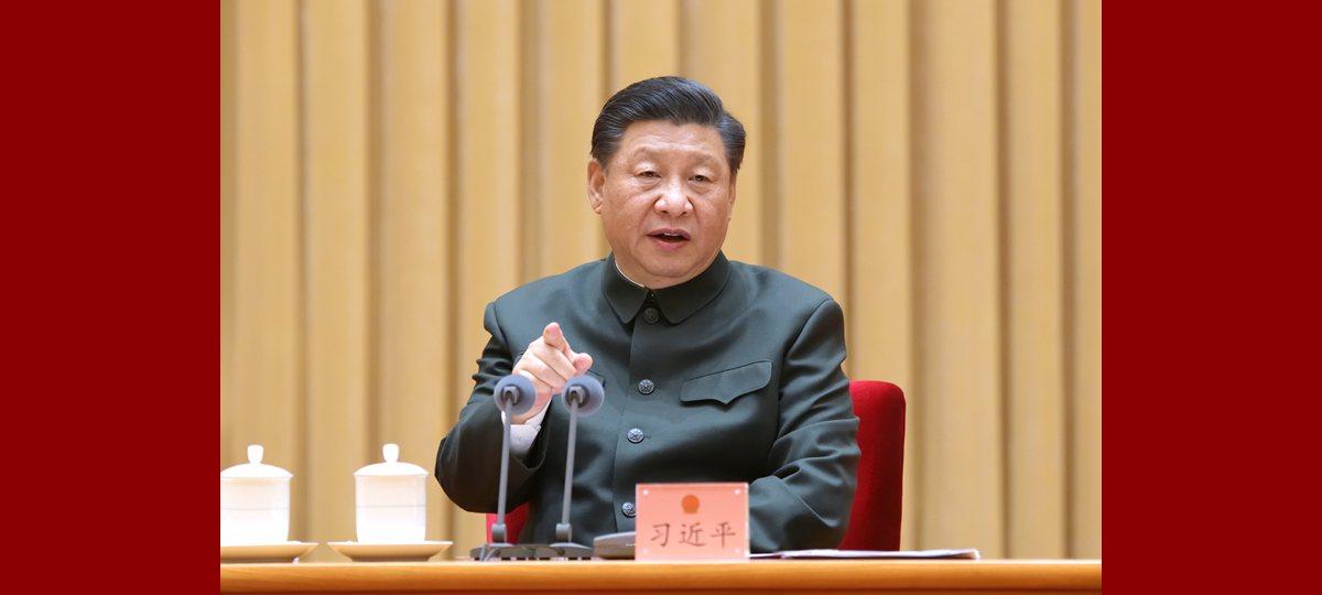 Xi Jinping appelle à un bon départ dans le renforcement des forces armées et de la défense nationale durant le 14e Plan quinquennal