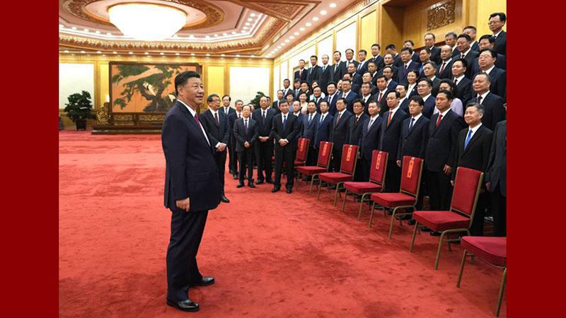 Xi Jinping rencontre d'éminents secrétaires des comités du Parti au niveau de district