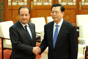 Rencontre chine france