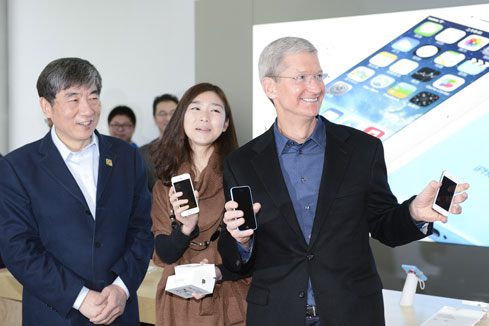 China Mobile lance la 4G pour iPhone