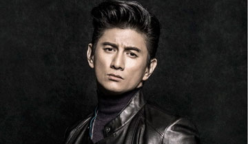 Nicky Wu pose pour un magazine