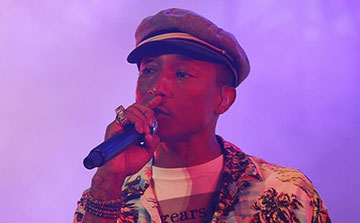 Le concert de Pharell Williams à Nîmes