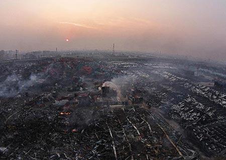 Dernier bilan des explosions à Tianjin : 114 morts et 70 disparus