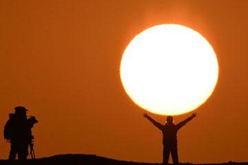 beau lever de soleil