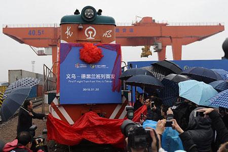 Le premier train de Chine vers l'Iran participe à la renaissance de la Route de la  Soie