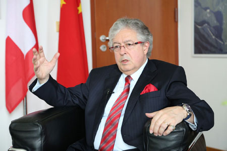 Ambassadeur de Suisse en Chine : la Chine va certainement devenir un grand pays de  l'innovation (INTERVIEW)