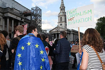 Brexit : manifestation des opposants à Londres en photos