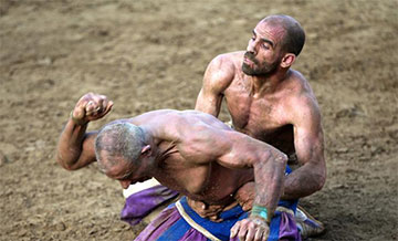 Calcio Fiorentino, football historique florentin en photos