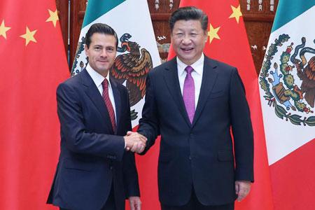 La Chine et le Mexique s'engagent à approfondir leur partenariat stratégique  global