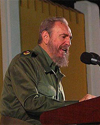Photos d'archives de Fidel Castro