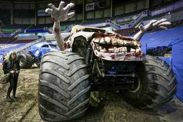Canada : spectacle Monster Jam à Vancouver