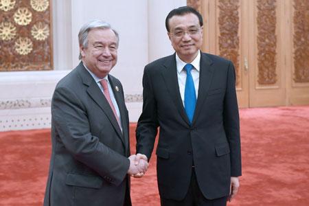 La Chine vise à renforcer ses liens avec l'ONU pour faire progresser l'agenda mondial