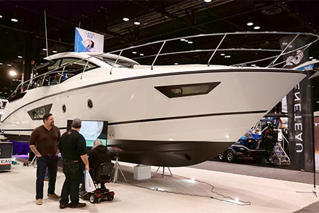 Etats-Unis : salon nautique à Chicago