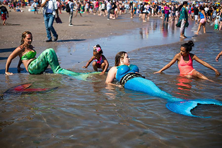 Etats-Unis : la Mermaid Parade à New York
