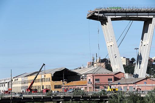 Italie/effondrement de viaduc : le bilan s'alourdit à 31 morts
