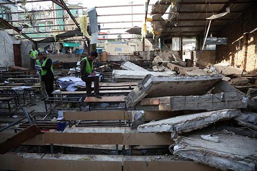 Afghanistan : le bilan de l'attentat suicide de Kaboul s'alourdit à 48 morts