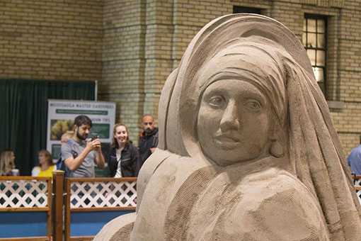 Concours international de sculpture de sable au Canada