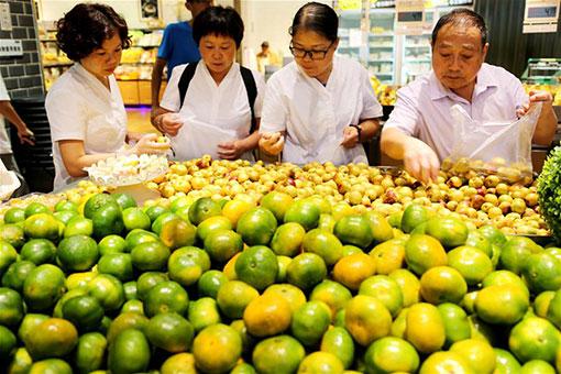 Chine : l'IPC en hausse de 2,3% en août