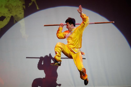 "Etats-Unis : spectacle de Wushu ""China Day"""
